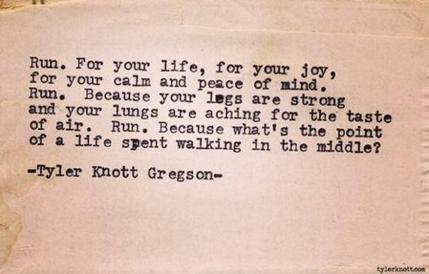 Tyler Knott Gregson, Typewriter Series #571