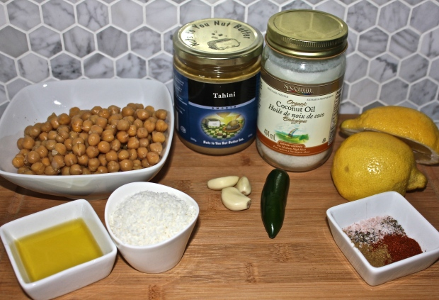 Coconut Hummus Ingredients