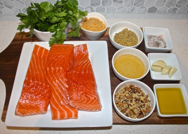 salmon ingredients