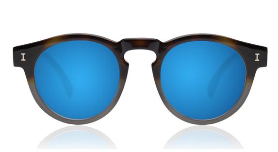 Women's Leonard Half/Half, Blue Mirror
