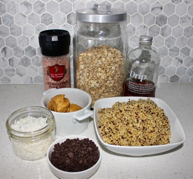 Ingredients - Quinoa Cookies