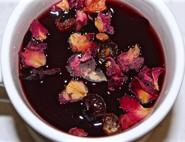 Vanilla Rosehip Hibiscus Cider