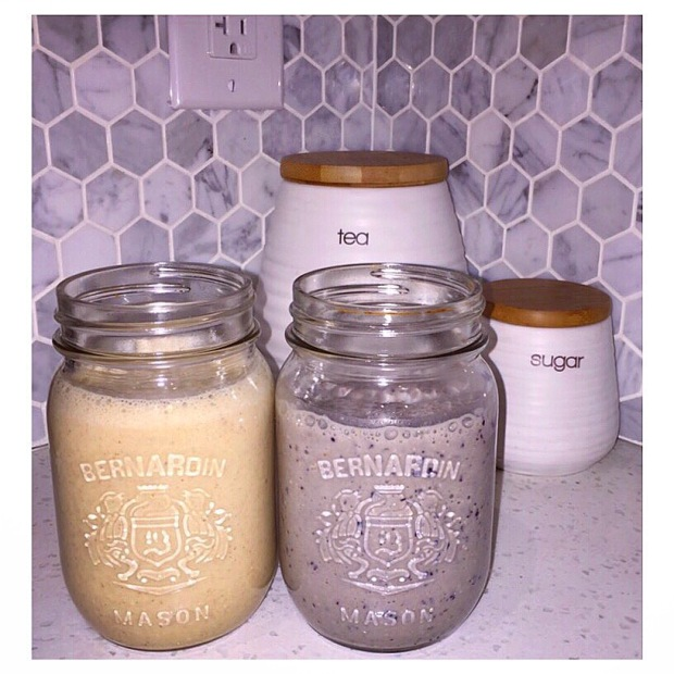 Oat smoothies
