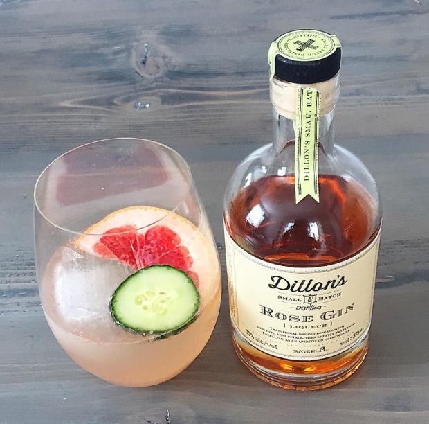 Rose Gin & Grapefruit