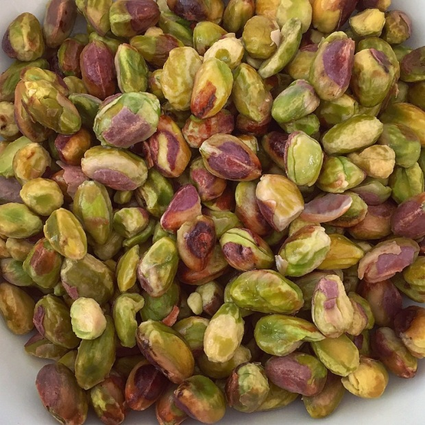 Soaked Pistachios