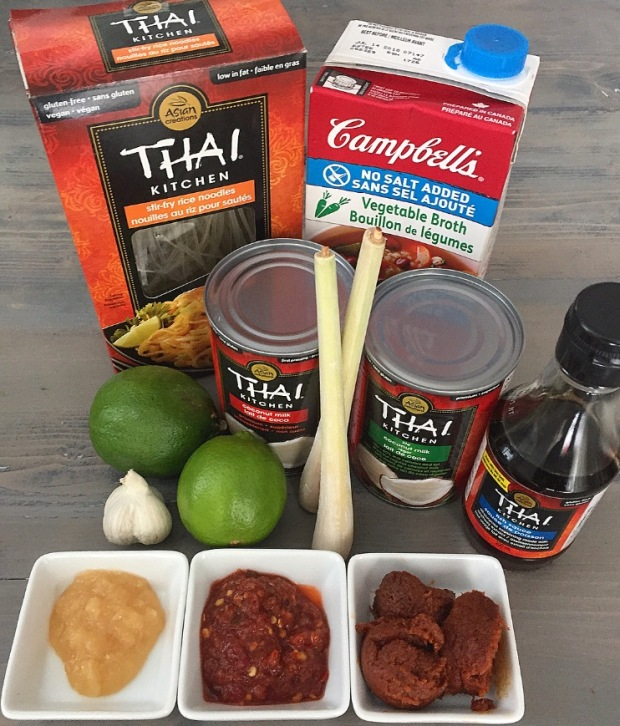 Tom Yum Ingredients